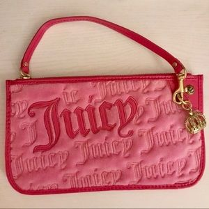 Pink Juicy Couture Clutch